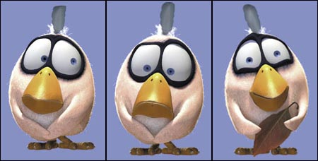 Pixar Cartoons Birds Birds Wire Cartoon Pixar