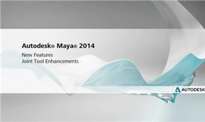 Autodesk Maya 2014: Joint Tool Enhancements