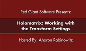 Holomatrix (Transform Properties)