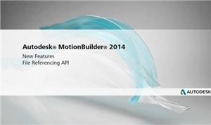 Autodesk MotionBuilder 2014: File Referencing API