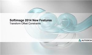 Autodesk SoftImage 2014: Transform Offset Contstraints