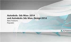 Autodesk 3ds Max 2014: Populate