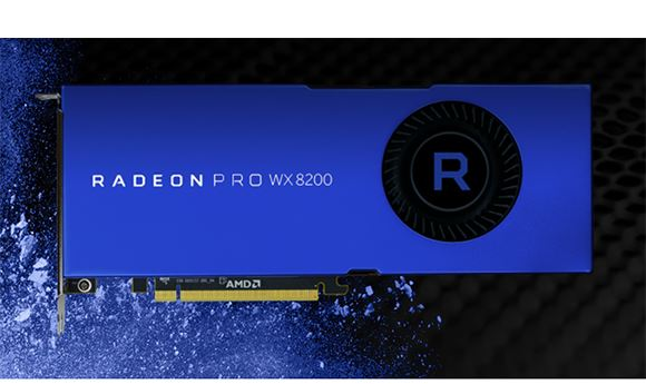 AMD Introduces Powerful WX 8200 Graphics Card