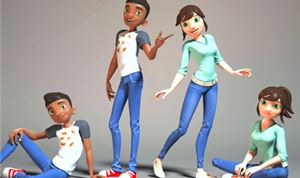 Cogswell Students Release New 3D Animatable Rigs