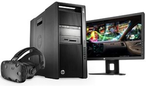 HP & Nvidia Partner On 'VR-Ready' Workstations