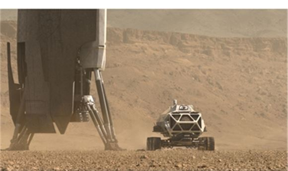 Framestore Creates VFX for <i>Mars</i>   Computer Graphics World