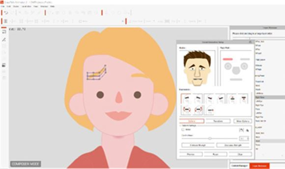 CrazyTalk Animator 3 Simplifies 2D Character Animation