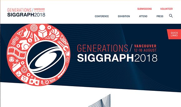 128 Technical Papers To Be Presented At SIGGRAPH 2018