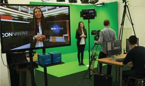 Vicon & Vizrt Partner On Virtual Set Solution