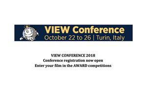 VIEW Conference Accepting Submissions For Competitions