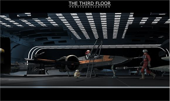 Previs and Postvis for 'The Last Jedi'