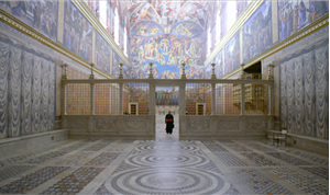 Union Re-paints Sistine Chapel for 'The Two Popes'