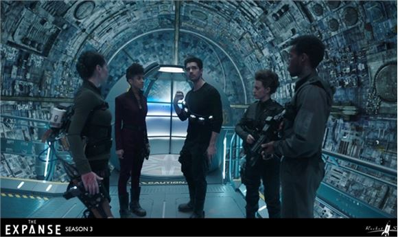 Rocket Science VFX Crosses 'The Expanse' | Computer Graphics