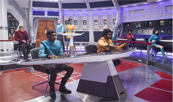 Adding Digital Thrills to Black Mirror's 'USS Callister'