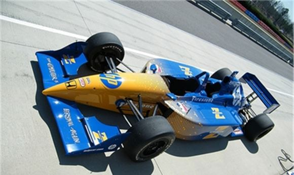 HP Technology Fuels IndyCars to Checkered Flag