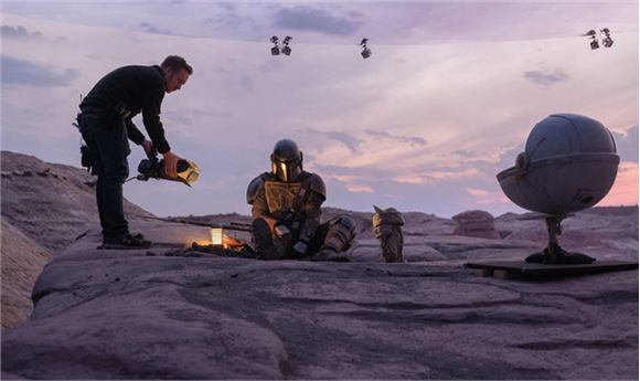 ILM & Epic Games Develop Groundbreaking LED Stage Production Tech for 'The Mandalorian'
