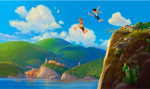 Pixar Invites Moviegoers to a Summer on the Italian Riviera with 'Luca""