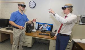 WPI Computer Scientists Use Mixed Reality to Visualize Complex Biological Networks