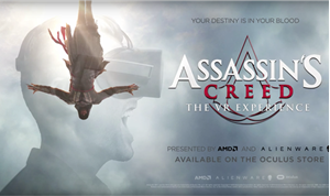 AMD and Alienware Team Up on 'Assassin's Creed' VR Movie Experience