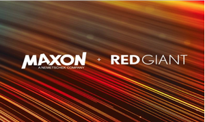Maxon & Red Giant Merger Completed, Senior Leadership Announced