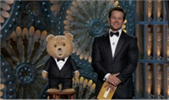 Ted Makes Oscar Awards Appearance
