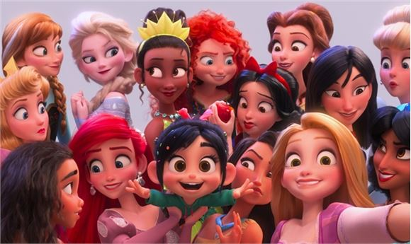 Oh My Disney Princesses