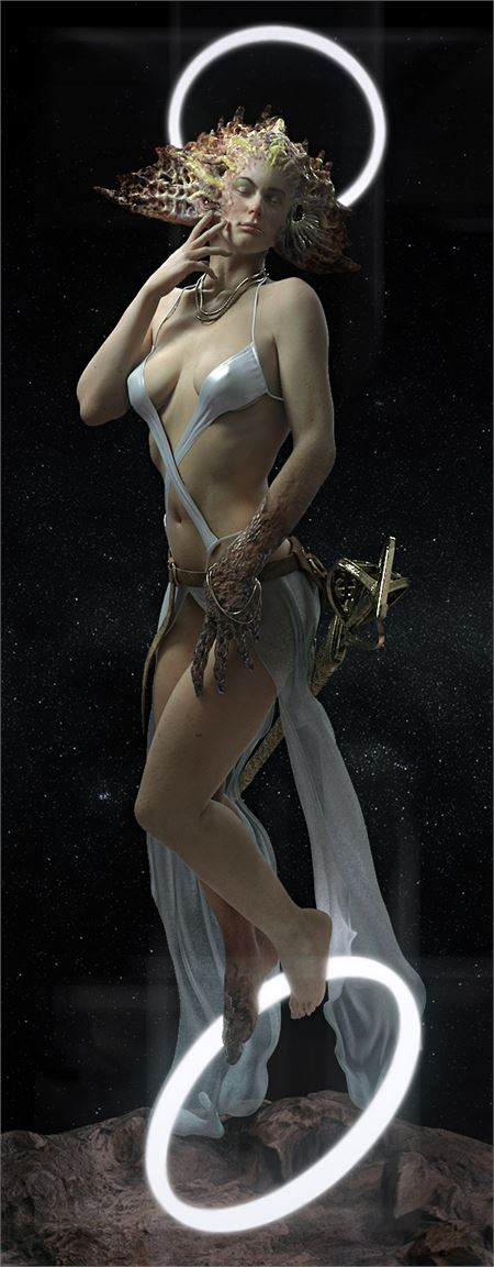Brett Sinclair - Arella (Angel) (Beauty Render)