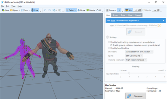 iPi Soft Announces iPi Motion Capture Version 4