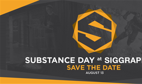 Inside Look at Allegorithmic Substance Day SIGGRAPH