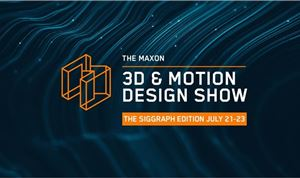 Maxon Announces 3D and Motion Design Show for SIGGRAPH