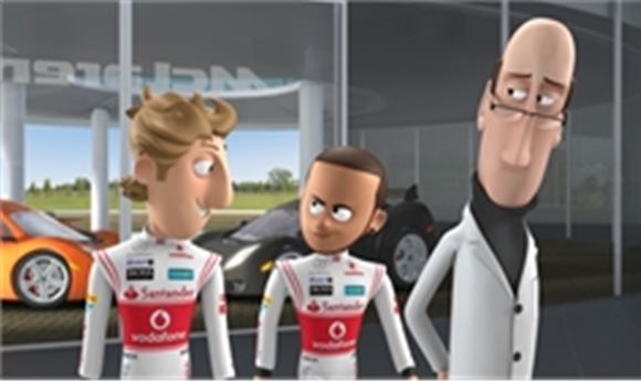 Framestore Joins Team McLaren