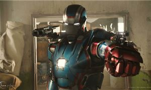 Patriotic Spirit for 'Iron Man 3'