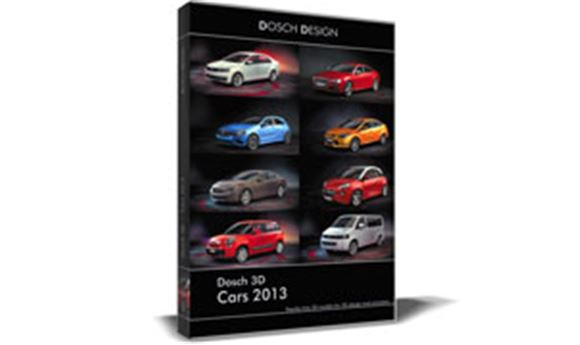 Dosch Design Releases 3D Models of Current Vehicles