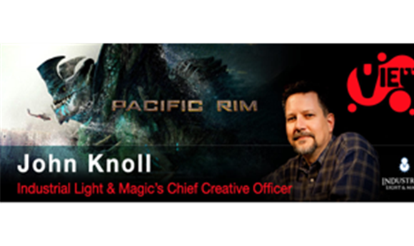 John Knoll to Keynote 2013 VIEW Conference