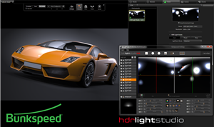 Bunkspeed 2014 Products Offer Live Integration with Lightmap HDR Light Studio