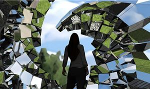 Reflective Sculpture Design Accelerated with Visualizer Technology