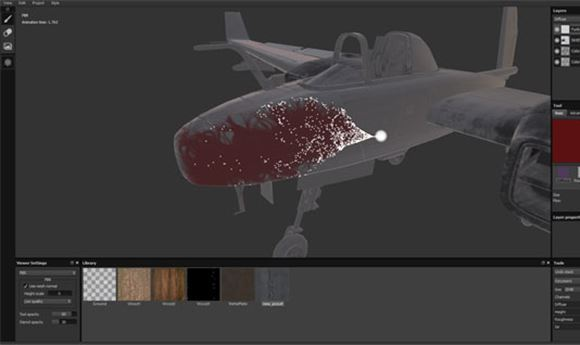 Allegorithmic Introduces Substance Painter Particle-Based Brush System