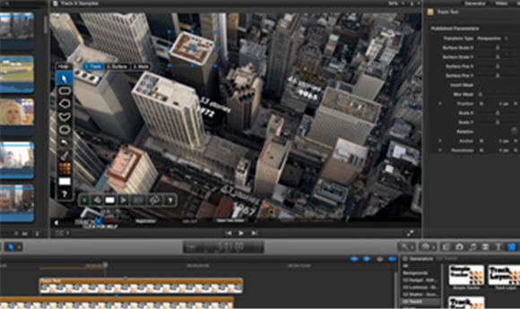 TrackX Powered by mocha Brings High-End Hollywood Motion Tracking Tools to Final Cut Pro X