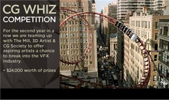 Third Annual Cg Whiz Competition To Reward Computer Graphics Amateurs Young Professionals