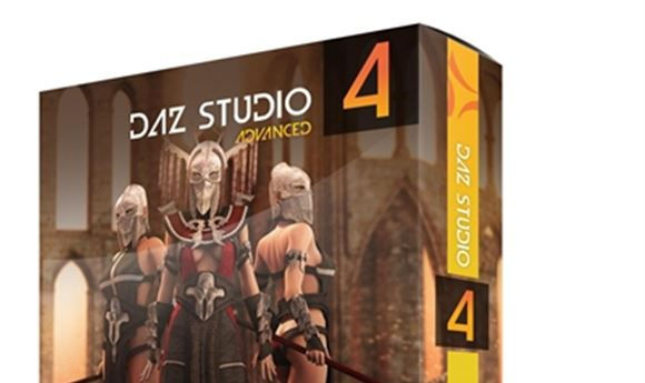 DAZ 3D Ships DAZ Studio 4 Advanced and Pro Versions