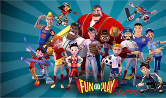 FunGoPlay Virtual Sports Theme Park Built with NewTek LightWave 10