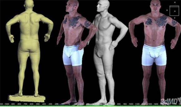 3dMD Body Scanner Offers 360-Degree Capture