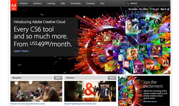 Adobe Introduces Creative Cloud Subscription