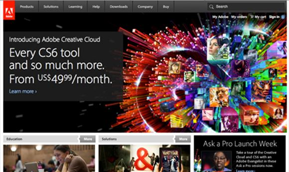 Abobe CS6 ships, Creative Cloud coming May 11