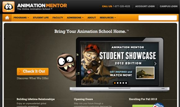 Animation Mentor Offers Special Course Pricing