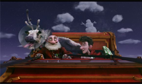 Santa Goes High Tech In 'Arthur Christmas'