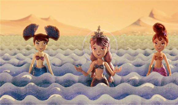 Athena Uses Stop-Motion Techniques For 'Mermaids On Mars'
