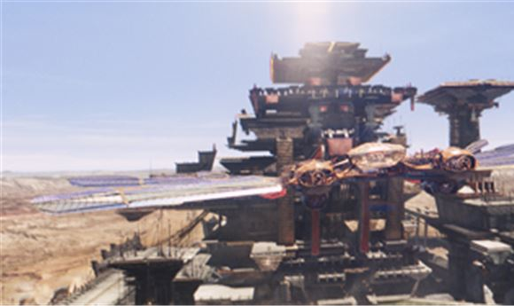 Cinesite Completes VFX, Conversion for 'John Carter'