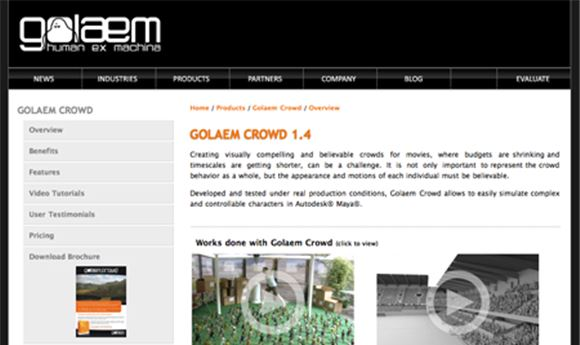 Golaem Updates Crowd Simulation Software | Computer Graphics