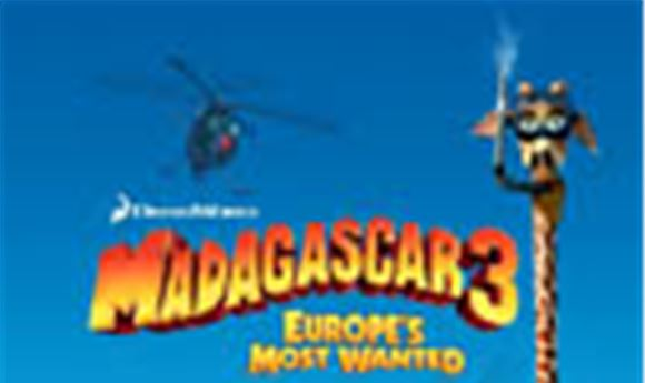 HP Powers 'Madagascar 3: Europe's Most Wanted'